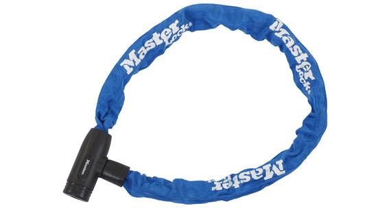 Masterlock 8391 Cykellås 8 mm x 900 mm blå